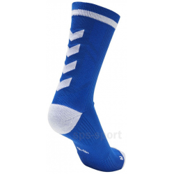Calcetines Hummel Elite Indoor Sport Low Medios Azul/Blanco