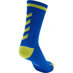 Calcetines Hummel Elite Indoor Sport Low Medios Azul/Amarillo