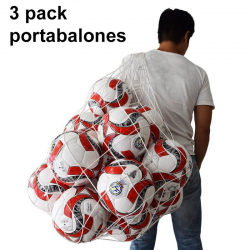 Pack 3 Portabalones 15 Balones